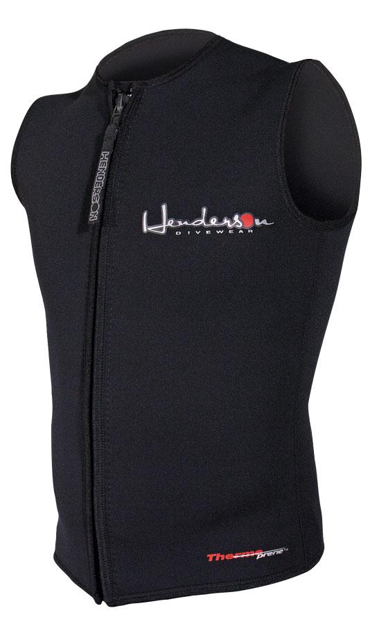 Mens thermoprene zipper vest