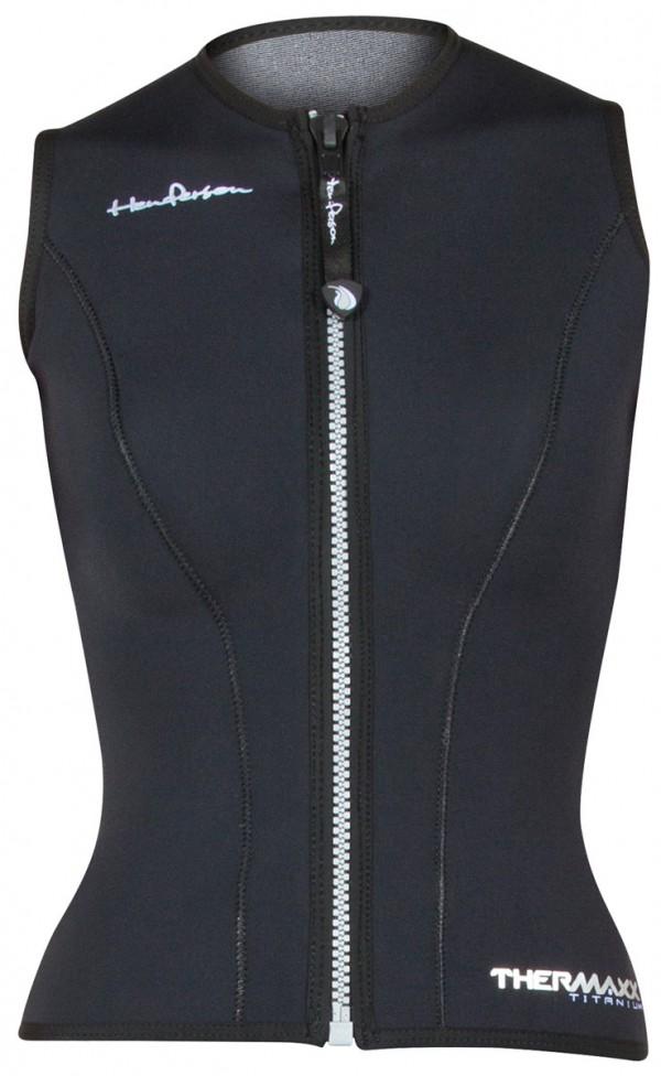 Womens Thermaxx zipper vest