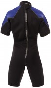 childrens thermoprene backzip shorty