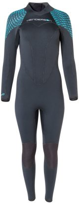 Women's Greenprene Back Zip Fullsuit