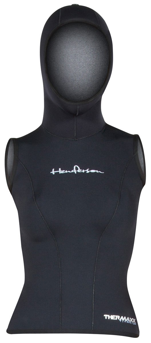 Womens Thermaxx hooded vest