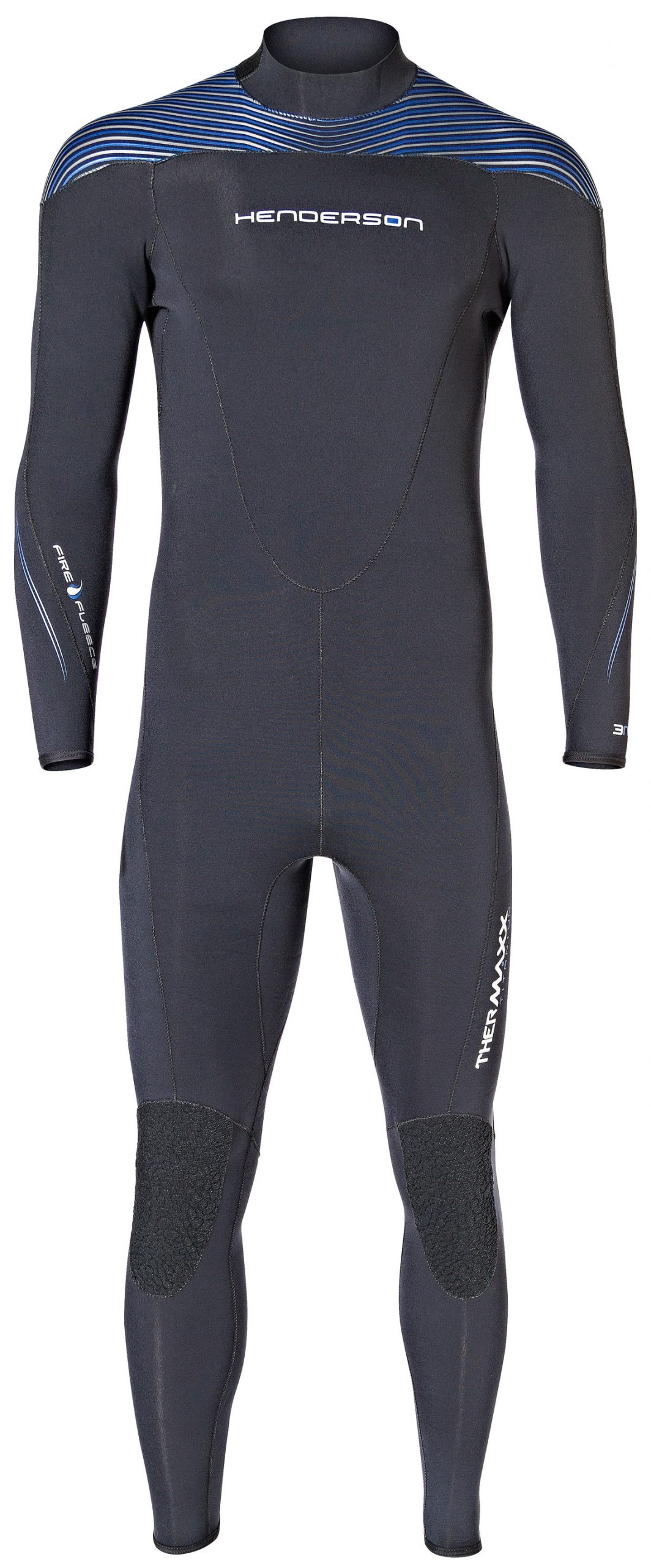 FOILING THERMOHOT IMPACT WETSUIT BLACK GREY  A2
